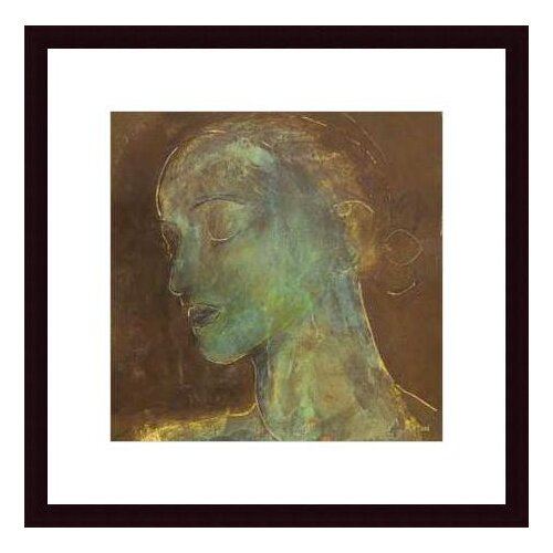 Barewalls Countenance II by Axton Framed Painting Print