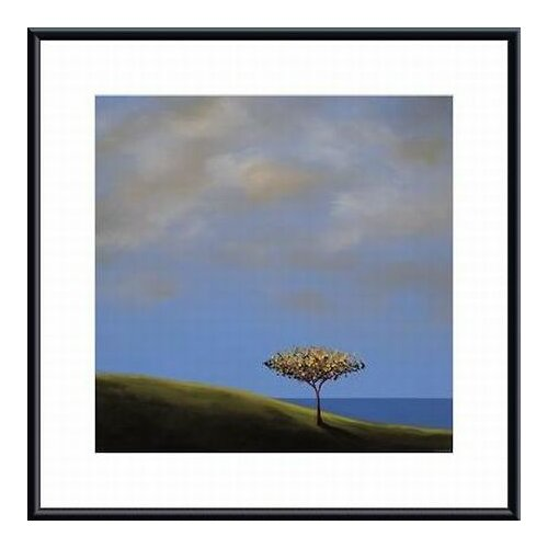 Ode To The Giving Tree by Tjasa Owen Framed Painting Print