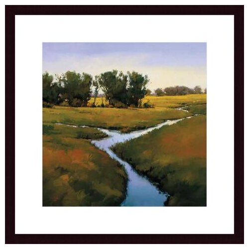 'Coming Together' by Greg Stocks Framed Painting Print