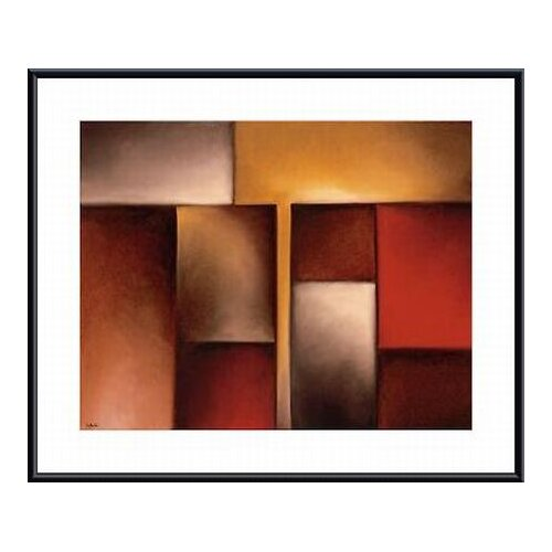 Barewalls 'Dual Vision I' by Nadia Beltei Framed Graphic Art