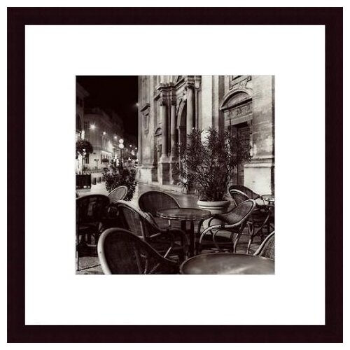 Barewalls 'Cafe, Avignon' by Alan Blaustein Framed Photographic Print