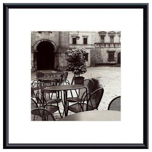 Barewalls 'Caffe, Toscana' by Alan Blaustein Framed Photographic Print