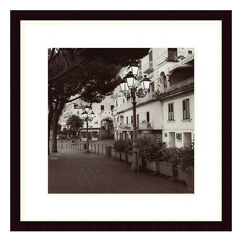 Barewalls 'Strada, Amalfi' by Alan Blaustein Framed Photographic Print