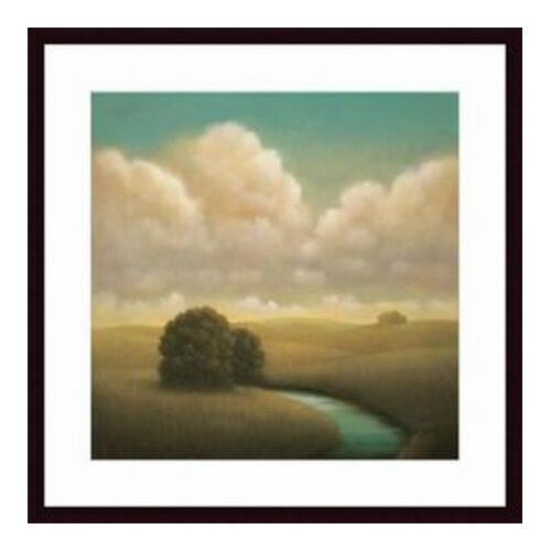 Barewalls 'Yesterday's Spring' by Donna McGinnis Framed Painting Print