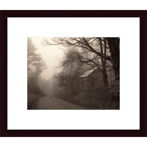 Barewalls 'Parish Hill Road' by Christine Triebert Framed Photographic Print
