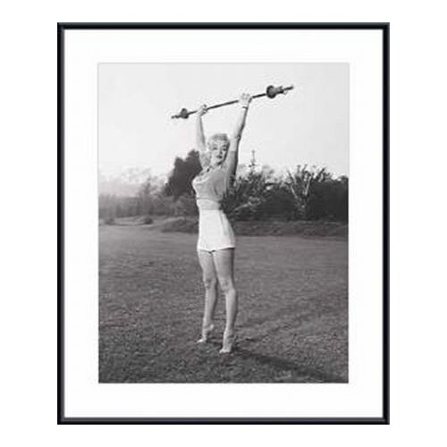 Barewalls Marilyn Workin' It Framed Photographic Print