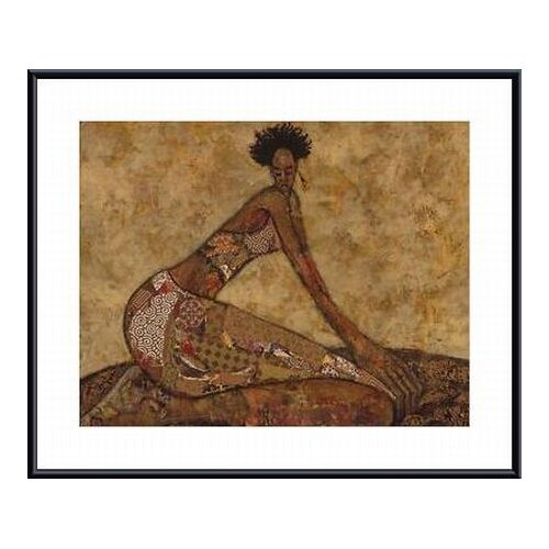 Barewalls 'Mellow' by April Harrison Framed Painting Print