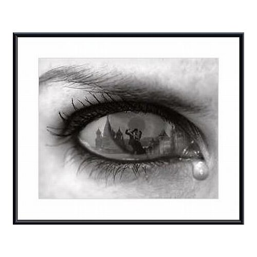 Barewalls 'Tearful Encounter' by Thomas Barbey Framed Painting Print