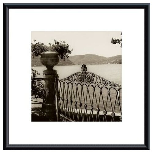 Barewalls 'Cernobbio Vista' by Alan Blaustein Framed Photographic Print