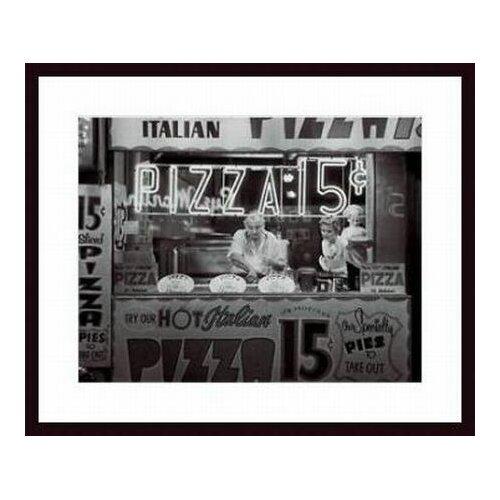 Barewalls 'Hot Italian Pizza' by Nat Norman Framed Photographic Print