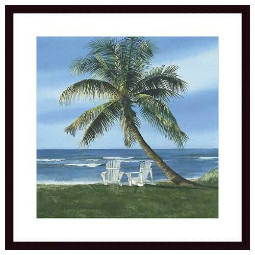 'Get Away' by Linda Roberts Framed Painting Print