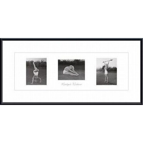 Barewalls Marilyn's Workout Framed Photographic Print