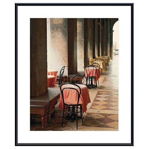 Cafe Arcade, Venice by John Scanlan Framed Photographic Print