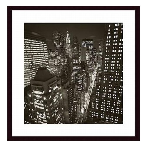 Printfinders East 40th Street by Michael Kenna Framed Photographic Print
