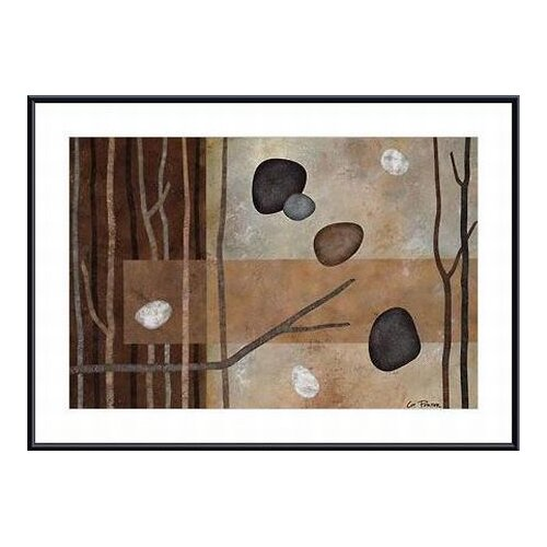 Barewalls Sticks and Stones IV by Glenys Porter Framed Painting Print