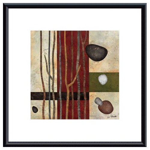Sticks and Stones V by Glenys Porter Framed Painting Print