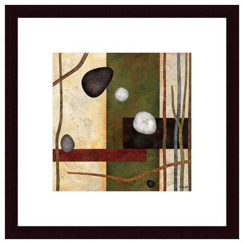 Barewalls Sticks and Stones VIII by Glenys Porter Framed Painting Print