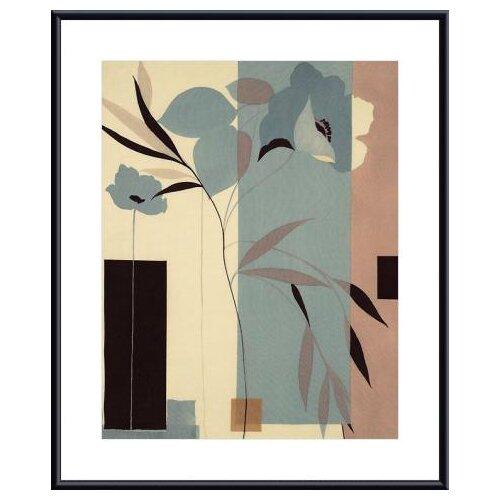 Fleurs du Matin I by Robert Vernet Framed Graphic Art
