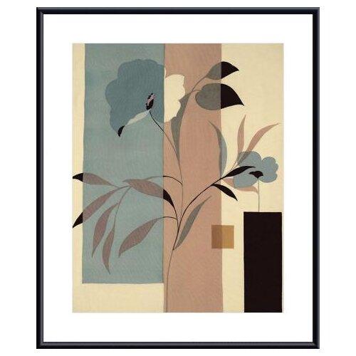 Fleurs du Matin II by Robert Vernet Framed Graphic Art