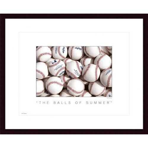 The Balls of Summer by Don Marquess Framed Photographic Print