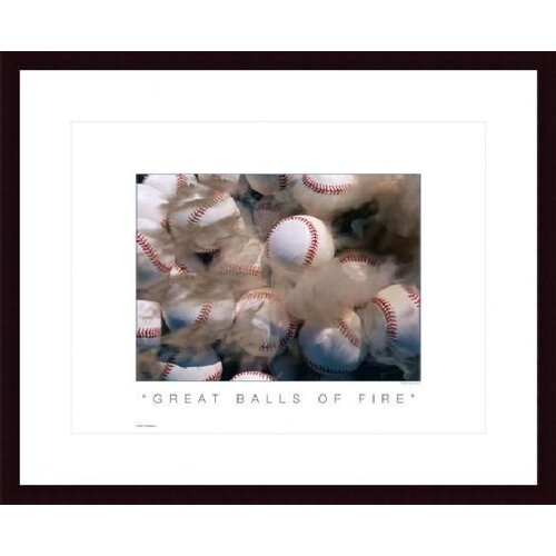 Barewalls Great Balls of Fire by Don Marquess Framed Photographic Print