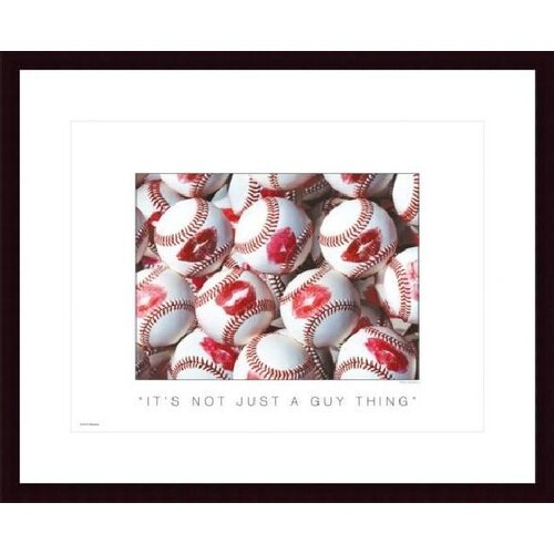 Barewalls It's Not Just a Guy Thing by Don Marquess Framed Photographic Print
