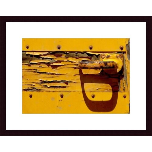 Barewalls Handle and Shadow by John K. Nakata Framed Photographic Print