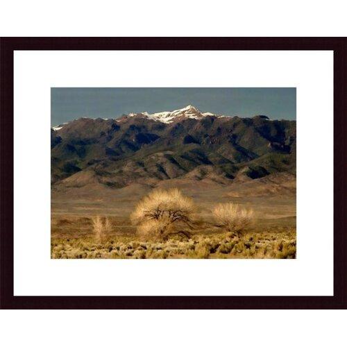 Barewalls High Desert Landscape by John K. Nakata Framed Photographic Print