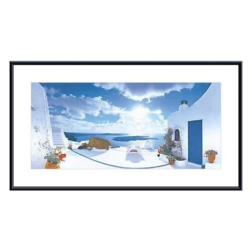 Barewalls Mediterranean Afternoon by George Meis Framed Photographic Print
