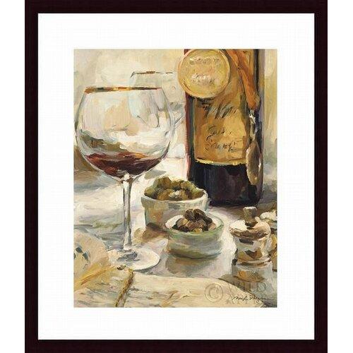 'Award Winning Wine I' by Marilyn Hageman Framed Graphic Art