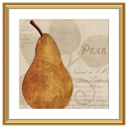 'Royal Fruit I' by Veronique Charron Framed Graphic Art