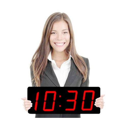 "Big Time Clocks Huge 5"" Numbers LED Digital Clock"