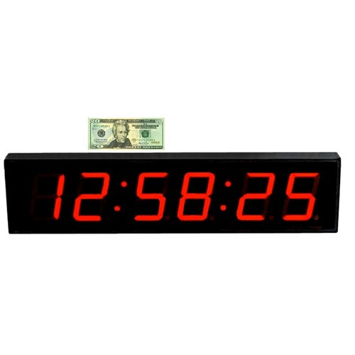Big time clocks wayfair - Extra large digital wall clock ...