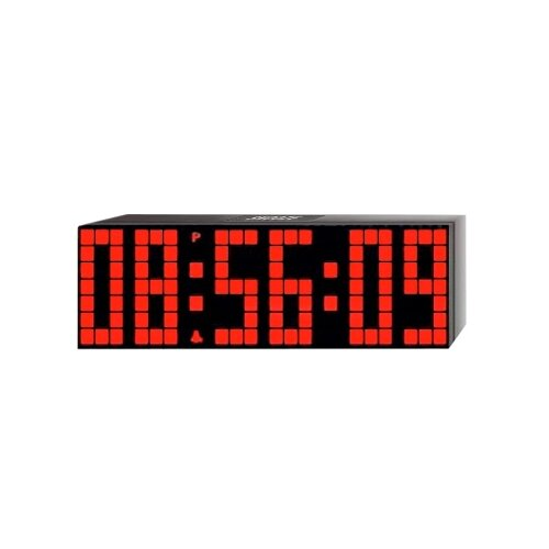 Lattice LED Digital Alarm / Countdown/Up Clock with Remote