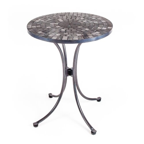 New Rustics Home Mosaic Round Marble Table