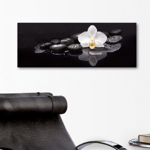 Deco Glass Beauty in Silence Photographic Print