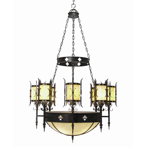 2nd Ave Design Sabrina 12 Light Chandelier