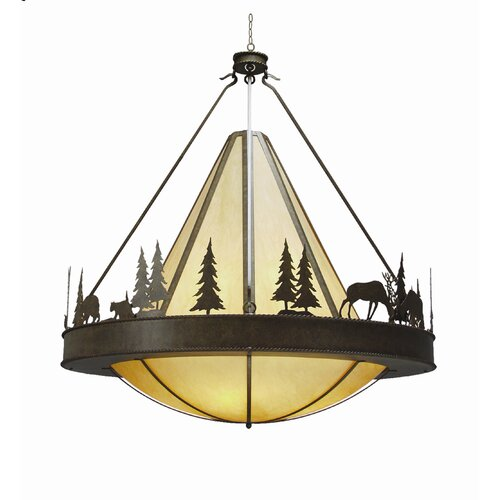 2nd Ave Design Verado 8 Light Inverted Pendant