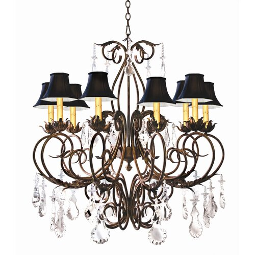 Felicia 10 Light Chandelier