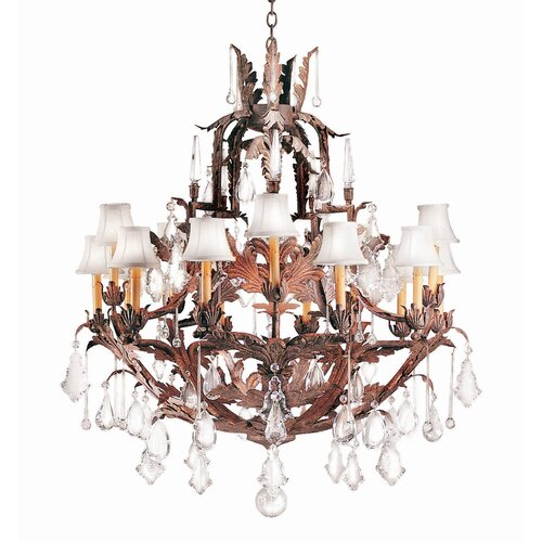 2nd Ave Design French Baroque 15 Light Chandelier