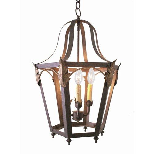 Acacia 4 Light Foyer Lantern