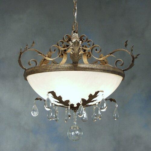Renaissance 5 Light Inverted Pendant