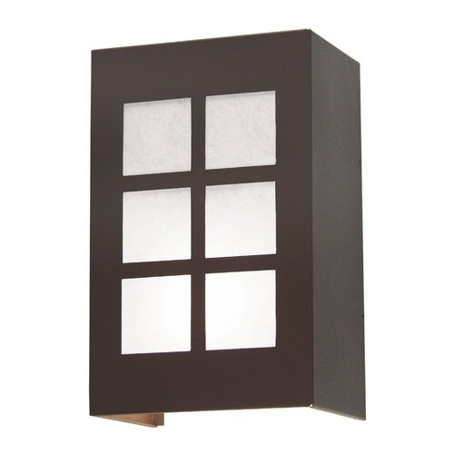 2nd Ave Design Alo 2 Light Exterior Wall Sconce