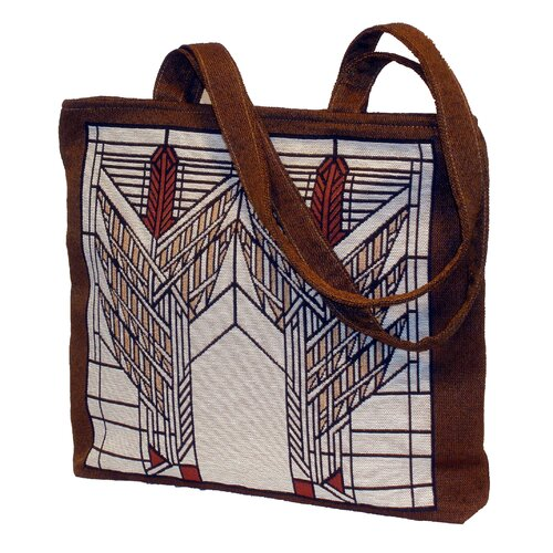 Frank Lloyd Wright Sumac Unlined Shoulder Tote Bag