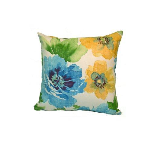 Rennie & Rose Design Group Muree Outdoor Fabric Stuffed Pillow