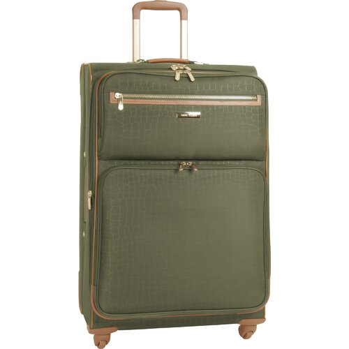 "Anne Klein Jungle 28"" Expandable Spinner Suitcase"