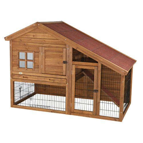 Trixie Pet Products Natura Small Animal Hutch with View
