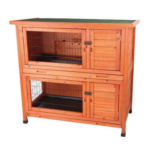 Trixie Pet Products Natura 2-in-1 Small Animal Hutch