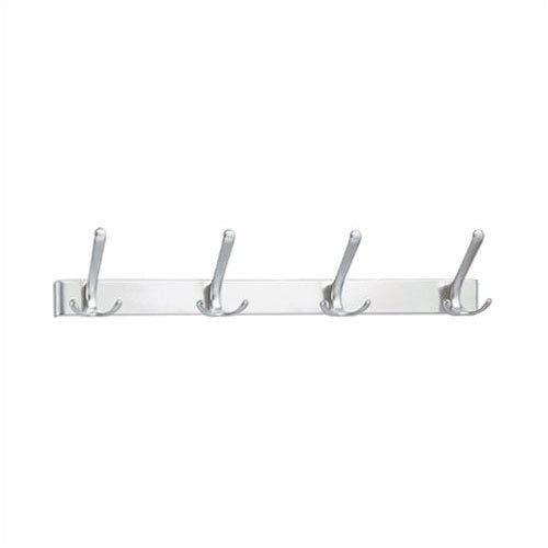 Peter Pepper 4 Hook Extruded Coat Rack