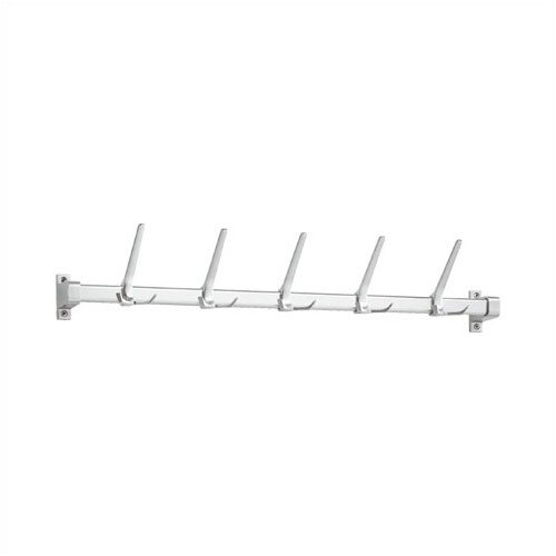 Peter Pepper Coat Rack with 5 Tall Sliding Hooks
